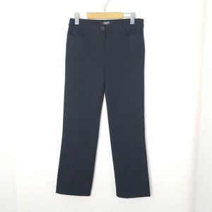 Hilary Radley | Black Straight Leg Trouser Pants 4